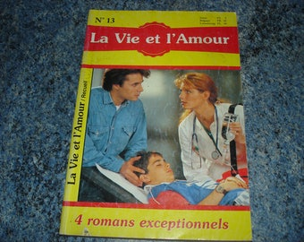 "Book novels Magazine book number 13 series ""Life and love"" (4 exceptional novels)"