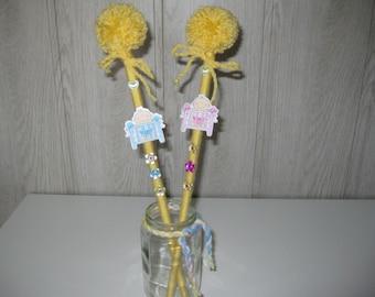 tassel on guardian christening decoration