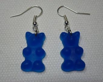 Teddy bear earrings