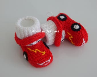 Booties machine,Baby style booties, Baby knitting shoes, booties , knitting booties for  boy.