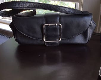 NIcole Miller Leather Evening Purse