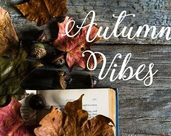 Styled Stock Photography | Dark Autumn Photo | Rustic Autumn Styled Photo