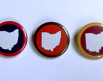 Cle OH sports set of 3.