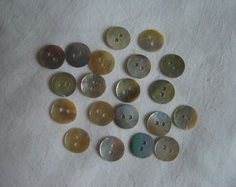 20 buttons mother baby / / 9 mm