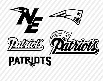 new england patriots SVG files for Silhouette studio and Cricut design space , cutting files, instant download, download studio3 files