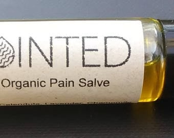 Pain Salve Oil Nerve Pain Organic Pain Relief Salve 29 Herbs Essential Oil Arthritis Muscle Ache Headache PMS Joint Pain Healing Salve