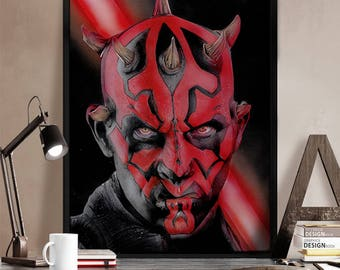 Darth Maul (A4/A3 Prints)