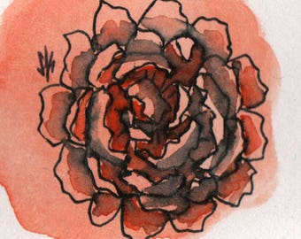 Watercolor Flower #2