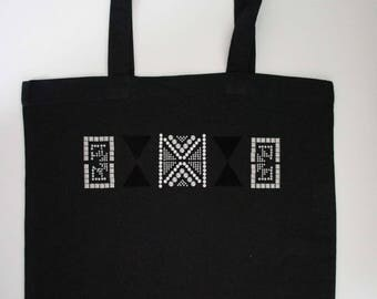 Canvas - tote bag - Black Tote Bag