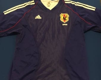 Adidas retro replica Japan football shirt med