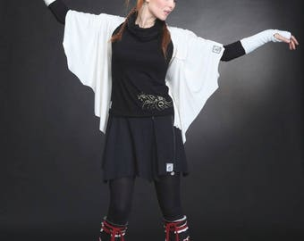 Black mini skirt Magic convertible