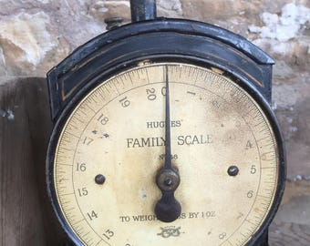 pre war family scales by Hughes No 48