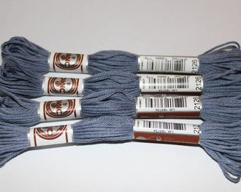 Plied yarn 2126 matte DMC embroidery FLOSS for canvas or bracelets