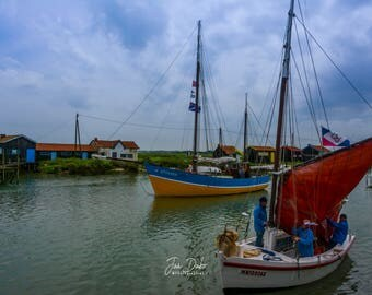 Parade of old ships - fine Art Photography - Charente-Maritime