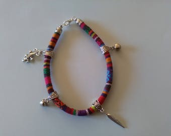 Custom designed ethnic ankle bracelet