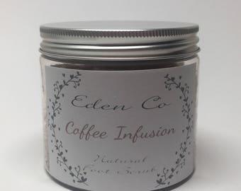 Coffee Infusion Natural Foot Scrub