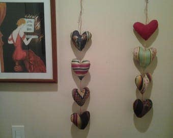 GARLAND OF HEARTS COLLECTION ALL COLORS ON MEASURES