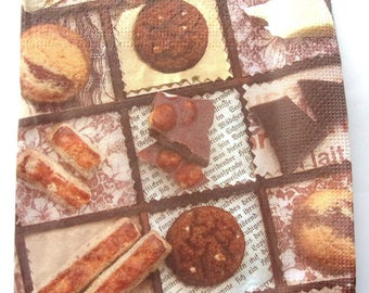 SWEETS and CHOCOLATES No. 16 napkins   3324