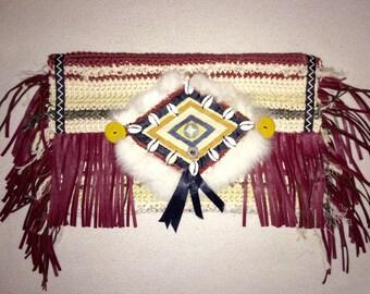 Royal Navajo Indian summer clutch