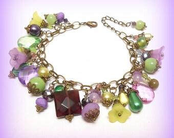"""Charm bracelet beads """"Harvest time"""""""