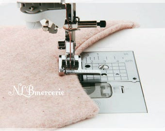 Crowbar sewing guide will help you sew a fixed distance from the edge of the garment