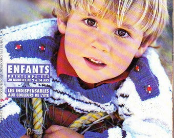 Catalog phildar child winter 1995