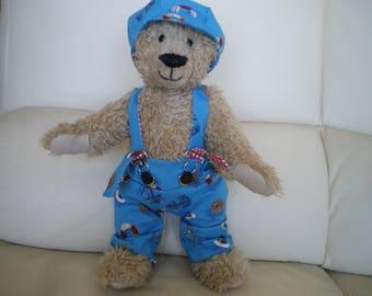 "bear fur synthetic ""hazelnut"" the sailor collection"