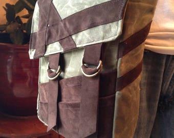 Asymmetric Messenger Bag, Tote Bag, Computer Bag
