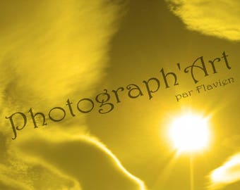 Fine art photography - radiant Sun: 30 x 20