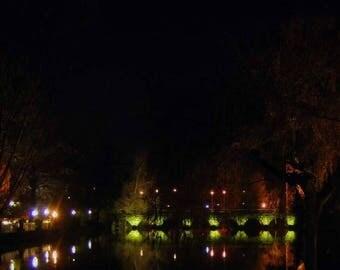 Fine art photography - bridge in Bruges: 30 x 20 cm