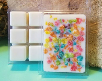 FRUITY PEBBLES soy wax melts 3.5oz, Premium Wax melts on sale, Soy Wax cubes, Homemade wax melts