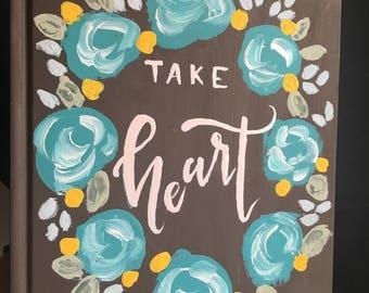 Take Heart - Journal