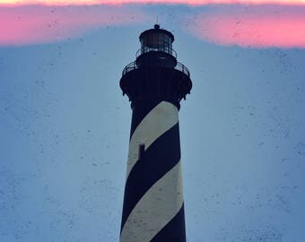 Cape Hatteras Lighthouse - Printed on Lustre Paper