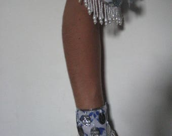 01 - Top arm bracelets and cuffs in cotton
