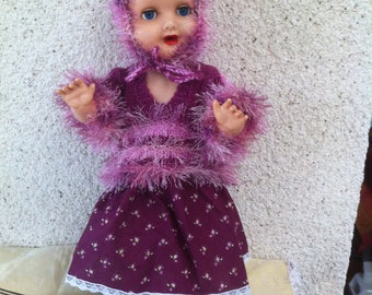 All dolls 45-50cm pink and fuchsia