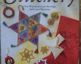 """Stitchery"" paperback book with 40 projects described"