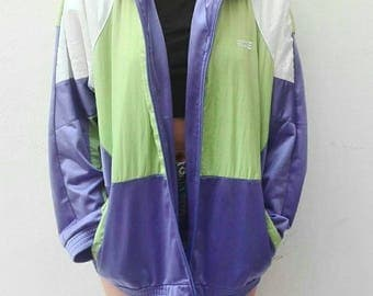 90s several woven jacket