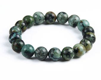 Beautiful color bracelet African turquoise stone beads
