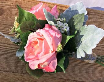 Woodland wedding bouquet/Fairy garden wedding/Boho bridal bouquet/Forest bride/Fall bouquet/Preserved bouquet/Keepsake bouquet/Fake Bouquet