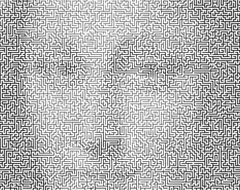 Photo Maze - Custom Design - Use your photo to create a MAZE!
