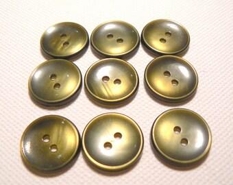 vintage khaki reflections 21 years 50-70 mm diameter button