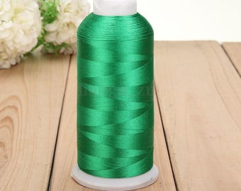 Green 1 reel 5000 m thread sewing sewing Polyester within 15 days