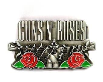 Belt buckle punk rock Guns N ' Roses metal belt buckle
