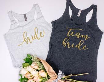 Team Bride, bridesmaid Shirts, Bachelorette Party Shirts, Bachelorette Shirts, Bride Shirt, Bride to Be, Bride Squad