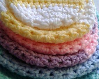 Baby girl beanies/baby boy beanies/crochet/preemie/0-3 months/3-6 months/6-9 months/9-12 months/1-2 years