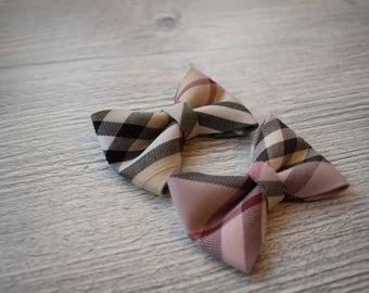 Check pattern ribbon