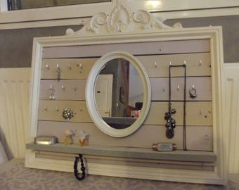DISPLAY JEWELRY AND MIRROR