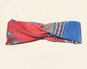 wax African turban turban