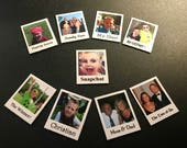 Personalized MINI Refrigerator Magnets - Set of 9