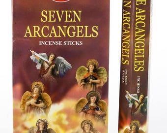Box of seven archangels incense 20 sticks